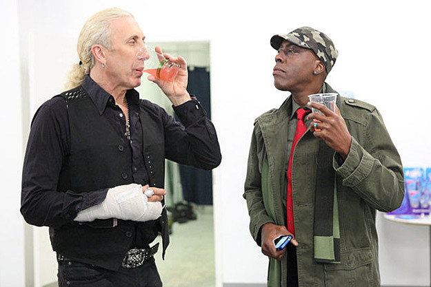 Dee Snider and Arsenio Hall on Celebrity Apprentice