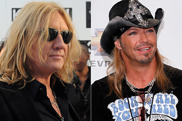 Joe Elliot, Bret Michaels