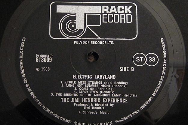 The Jimi Hendrix Experience Electric Ladyland Uk Vinyl