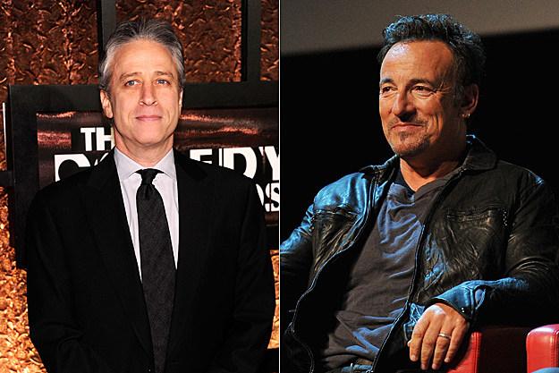 Jon Stewart, Bruce Springsteen