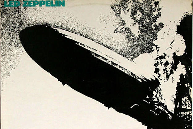 Rare Turquoise Sleeved Edition Of Led Zeppelin S First