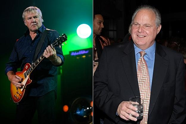 Alex Lifeson and Rush Limbaugh