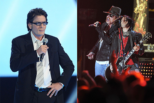 Charlie Sheen / Guns N' Roses