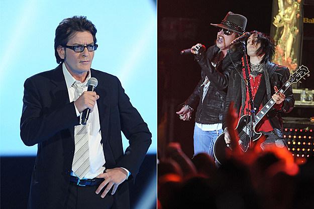 Charlie Sheen / Guns N' Roses