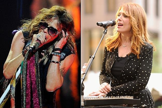 Steven Tyler and Nancy Wilson