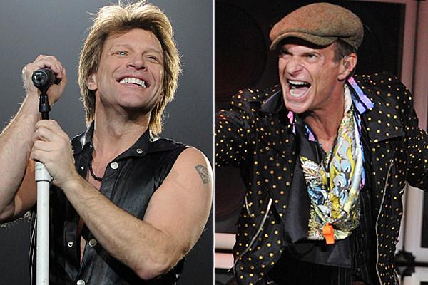 Daily Rewind Jon Bon Jovi David Lee Roth Metallica More