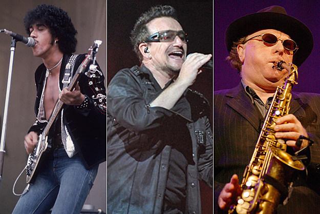 Phil Lynott, Bono, Van Morrison