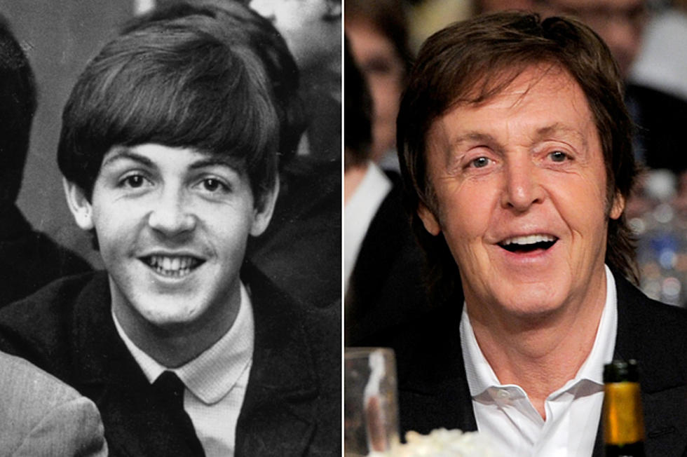Paul McCartney Then And Now