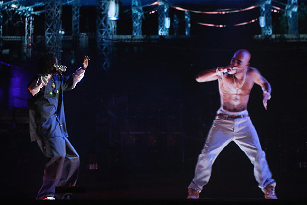 Tupac Shakur Hologram and Snoop Dogg