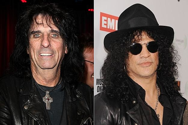 Alice Cooper and Slash