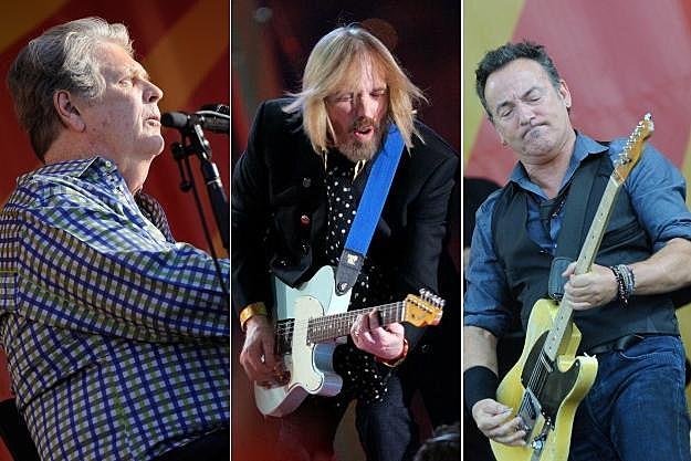 Brian Wilson Tom Petty Bruce Springsteen