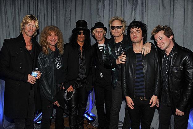 Guns N' Roses and Green Day