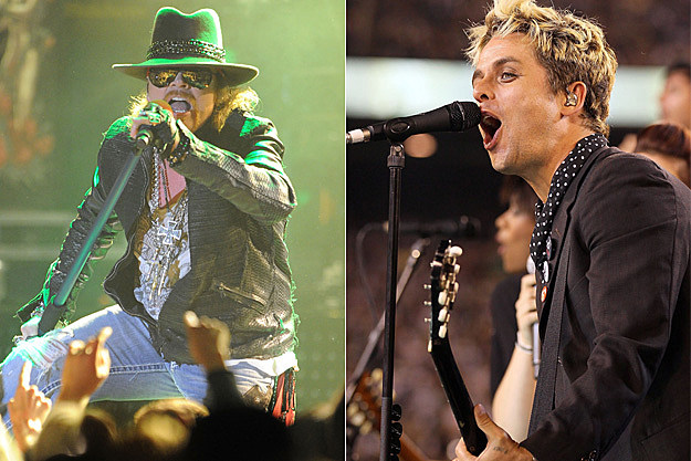 Axl Rose / Billy Joe Armstrong