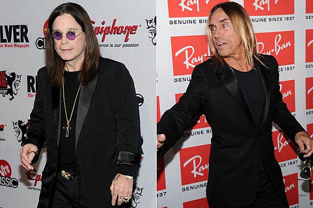 Ozzy Osbourne, Iggy Pop