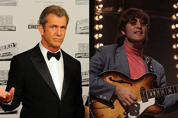 Mel Gibson / John Lennon