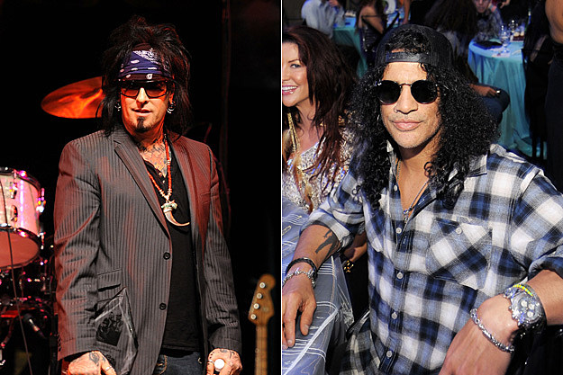 Nikki Sixx / Slash