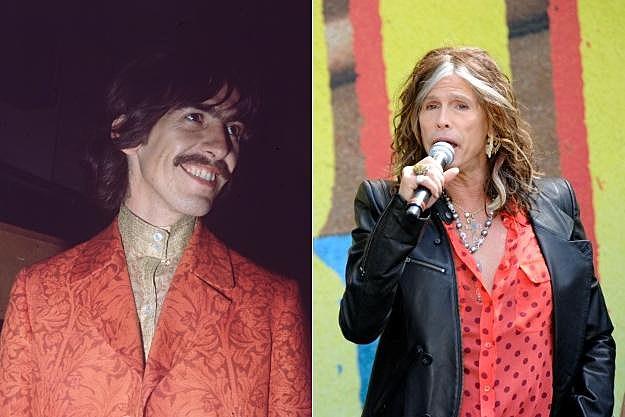 George Harrison Steven Tyler