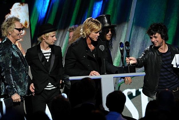 Guns N Roses Green Day
