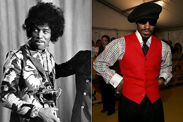 Jimi Hendrix Andre 3000