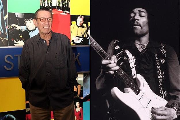 Leonard Nimoy Jimi Hendrix