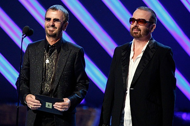 Ringo Starr and Dave Stewart