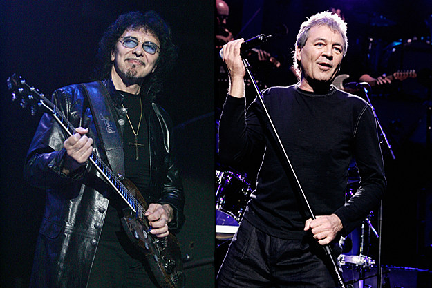 Tony Iommi and Ian Gillan