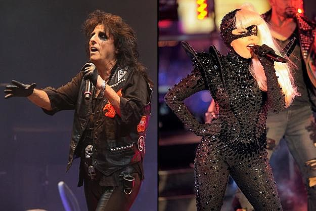 Alice Cooper Lady Gaga