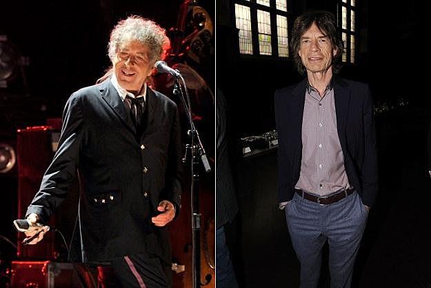 Bob Dylan Mick Jagger