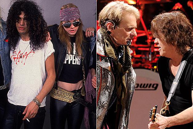 Guns N' Roses / Van Halen