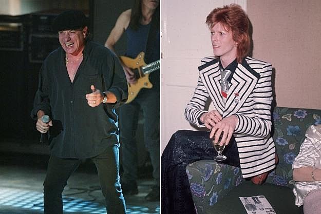 Brian Johnson David Bowie