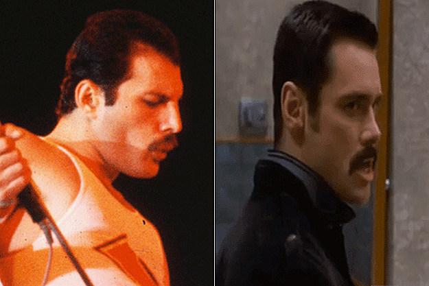 Freddie Mercury / Jim Carrey