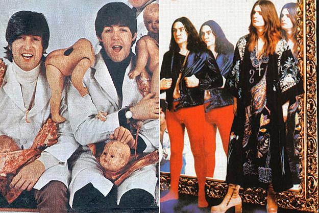 The Beatles / Black Sabbath