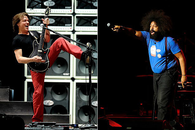 Eddie Van Halen and Reggie Watts