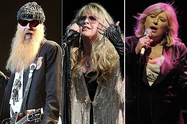 Billy Gibbons-Stevie Nicks-Marianne Faithful