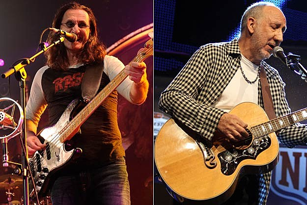 Geddy Lee-Pete Townshend