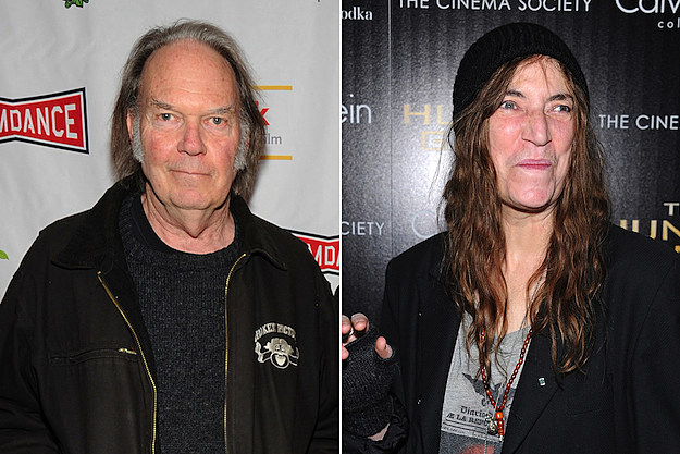 Neil Young / Patti Smith