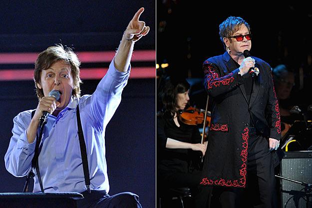 Paul McCartney-Elton John