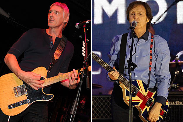 Paul Weller-Paul McCartney