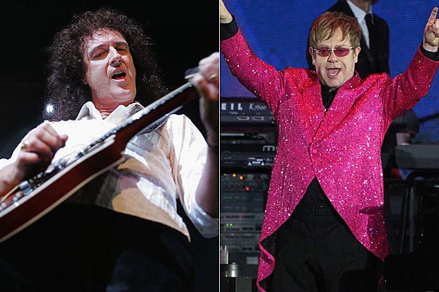 Queen and Elton John