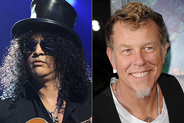 Slash, James Hetfield