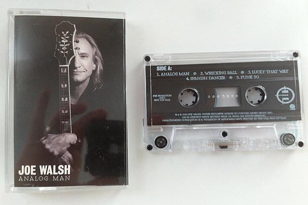 Joe Walsh Analog Man Cassette