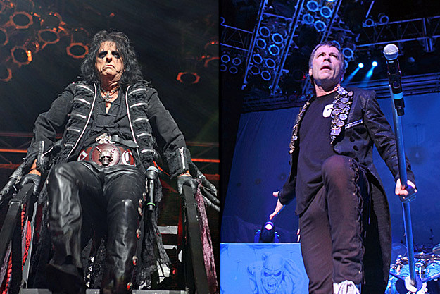 Alice Cooper and Iron Maiden
