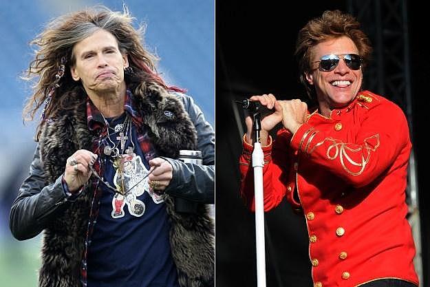 Aerosmith Bon Jovi