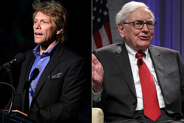 Jon Bon Jovi, Warren Buffett