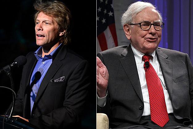 Jon Bon Jovi, Warren Buffett