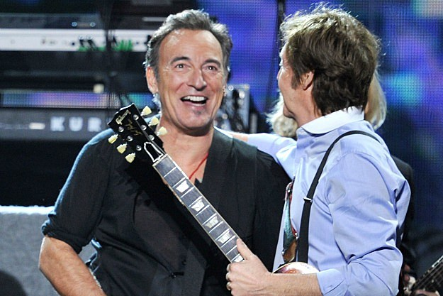 Bruce Springsteen and Paul McCartney