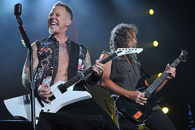 James Hetfield-Kirk Hammett