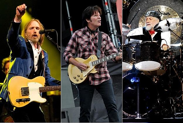 Tom Petty John Fogerty Mick Fleetwood