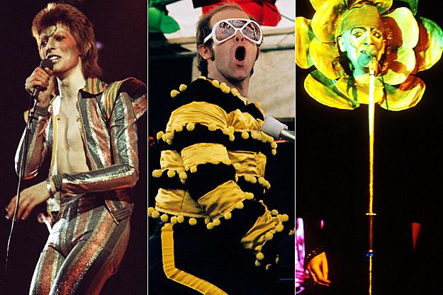 David Bowie / Elton John / Peter Gabriel