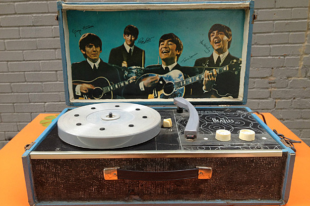 Beatles Record Player Sells For Over 1500 At Auction